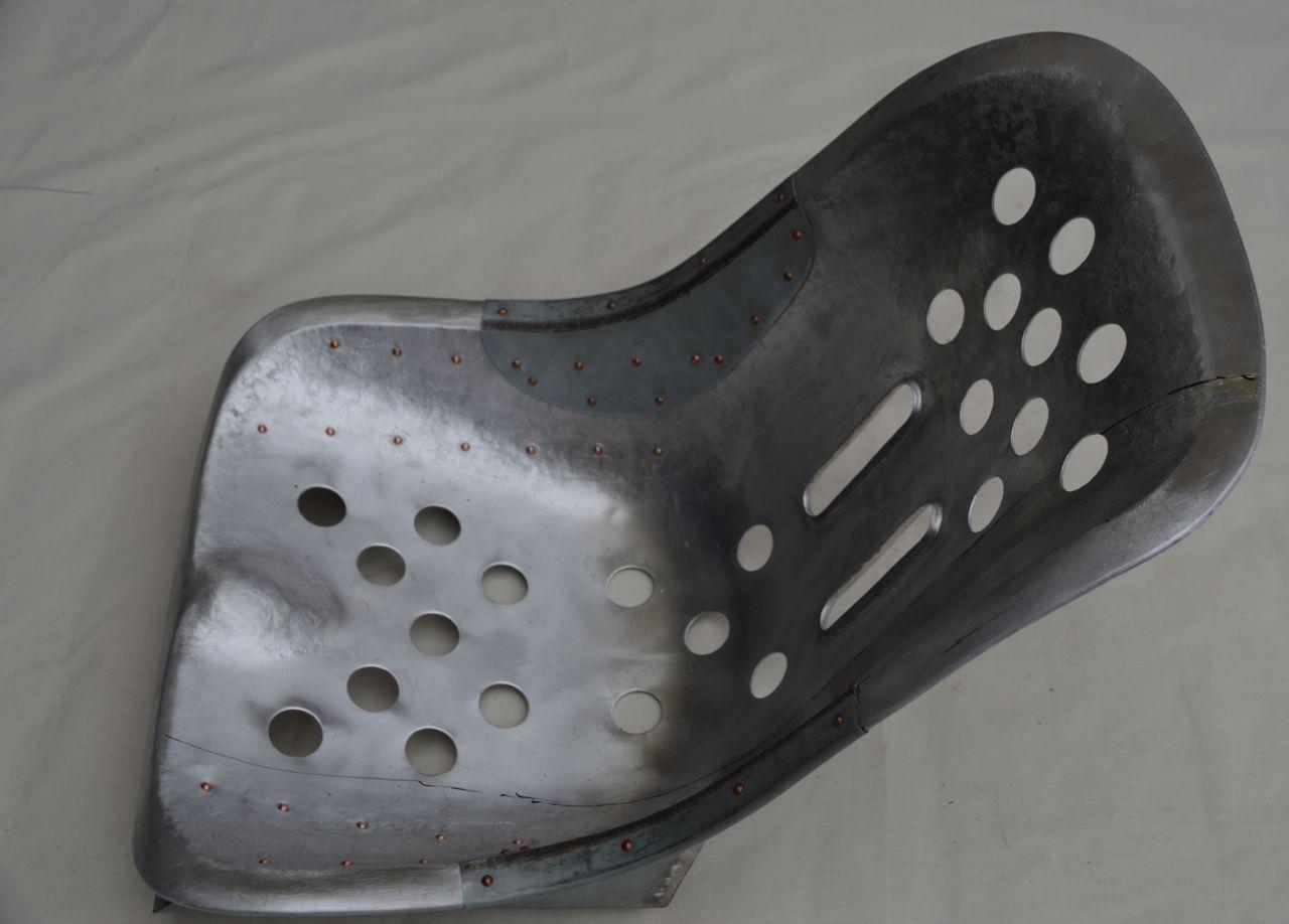 356 Speedster Sitzschale Aluminium